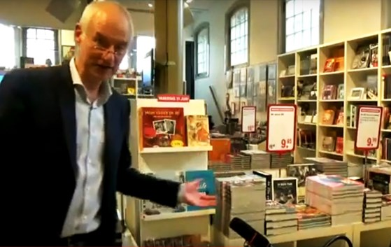 wim in museumshop