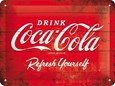 Coca-Cola-Drink-Metal-Convex-Sign